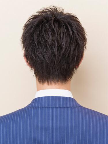 ワックスなしでもかっこいい髪型(後ろ)