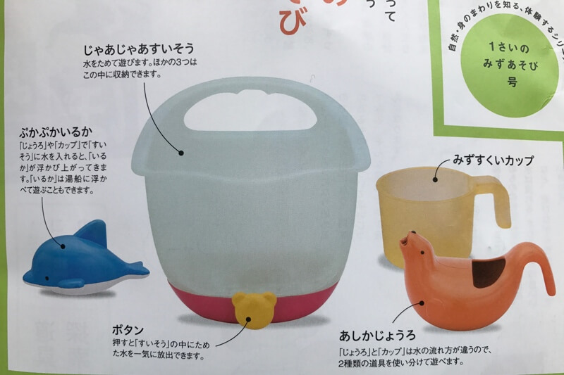 お風呂用おもちゃの説明