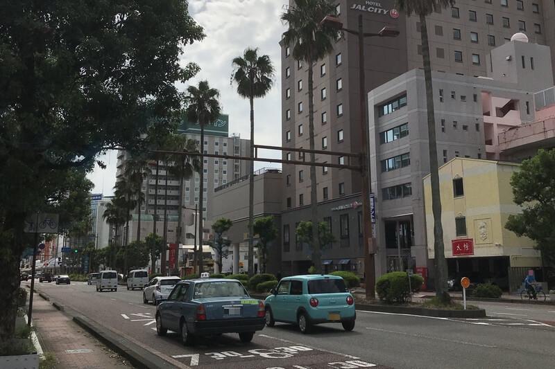 宮崎市の風景