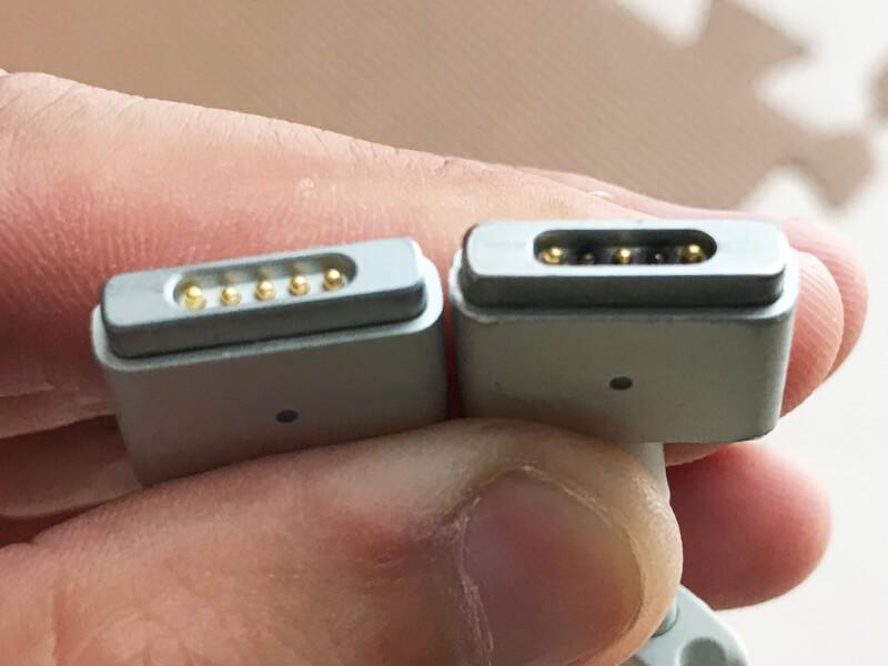 Macの充電器(MagSafe2)