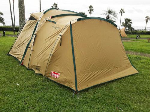 コールマンのテント「タフスクリーン2ルームハウス」
