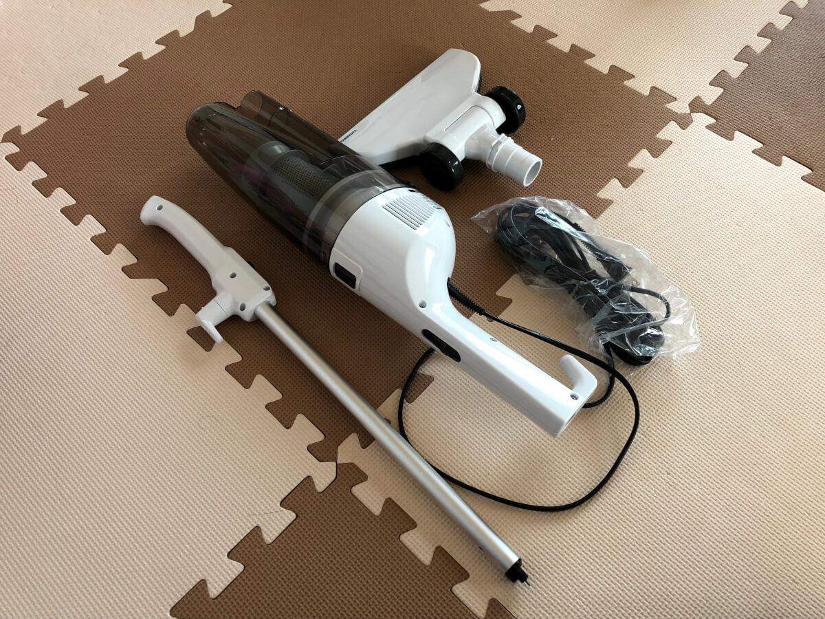 バラバラのツインバード掃除機
